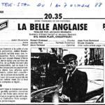 Télévision - Anne Deleuze dans «La Belle Anglaise»