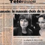 Télévision - Anne Deleuze dans «Le Choix de la Nuit»