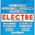 Théâtre - Anne Deleuze dans «Electre»