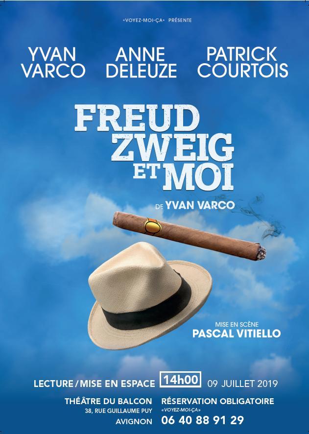 Au théâtre en juillet 2019, Freud Zweig et moi