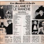 Télévision - Anne Deleuze dans «La Lame et le Manche»