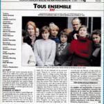 Télévision - Anne Deleuze dans «Tous Ensemble»