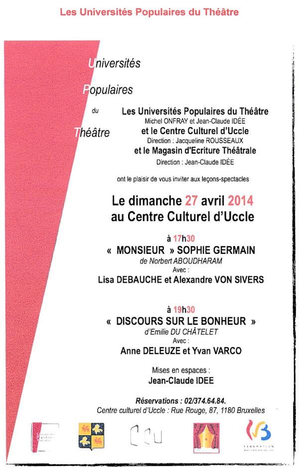 «Universités Populaires du Théâtre» - universite-theatre-1-600x938
