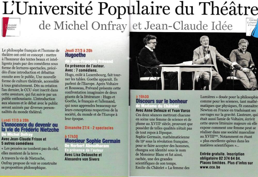 «Universités Populaires du Théâtre» - universite-theatre-10-1000x688