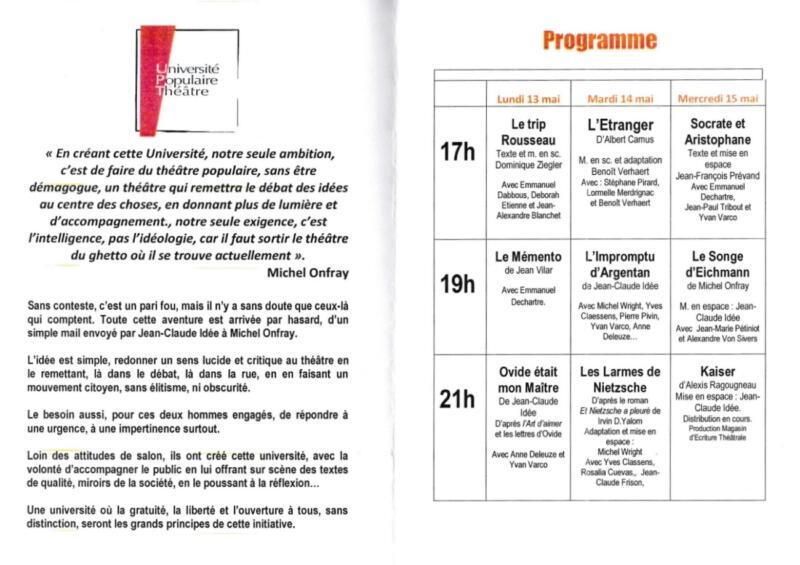 «Universités Populaires du Théâtre» - universite-theatre-6-800x565