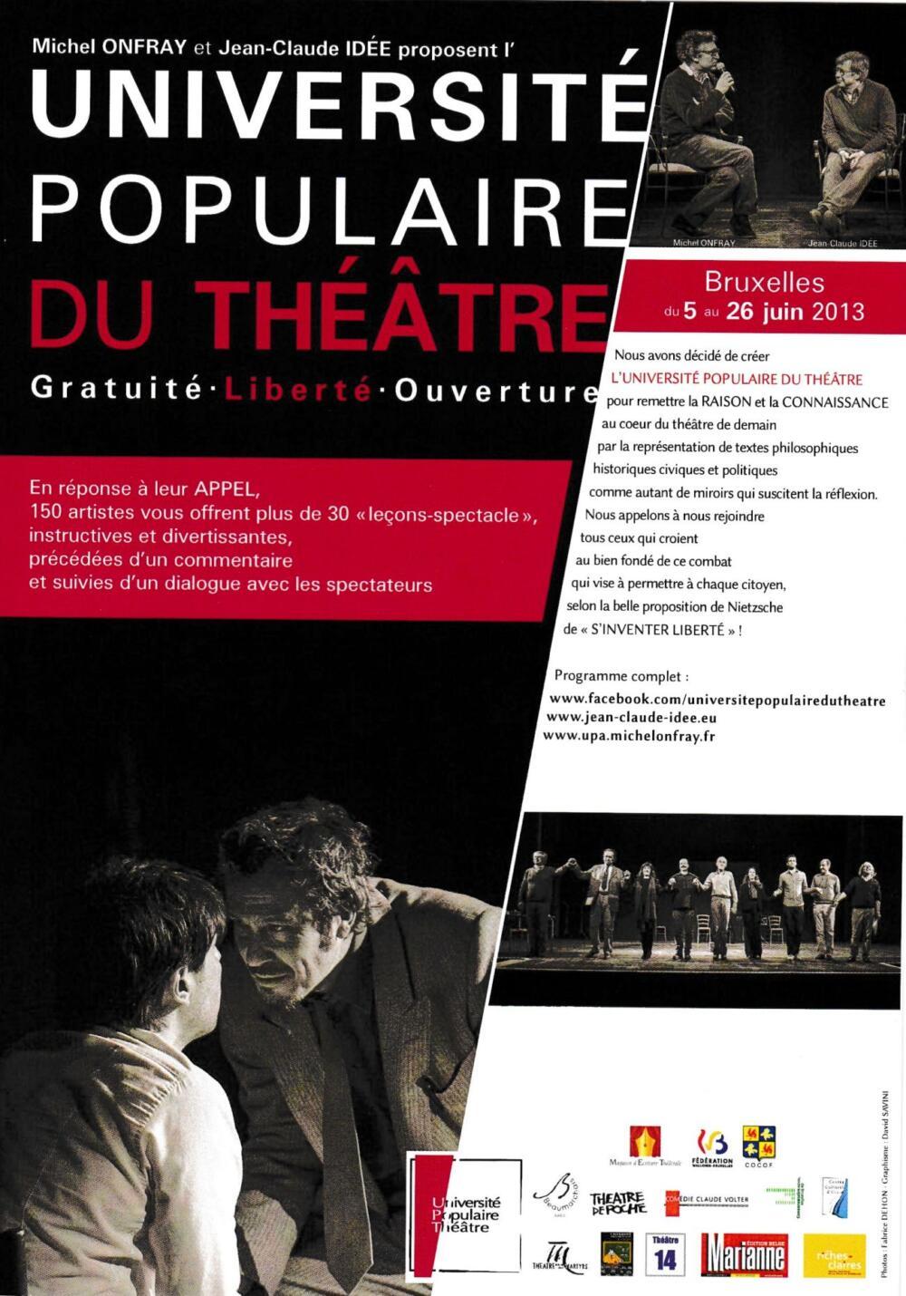 «Universités Populaires du Théâtre» - universite-theatre-9-1000x1430