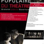 Théâtre - Anne Deleuze dans «Universités Populaires du Théâtre»